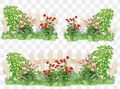 Flower garden part