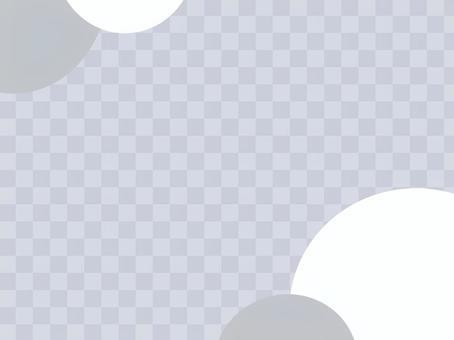 易於使用的簡單灰色背景水平