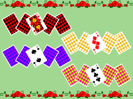 Playing cards line # 2