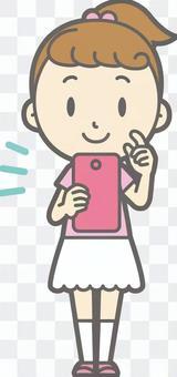 女孩短袖a  -  Smaho操作 - 全長