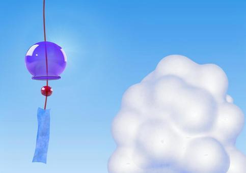 風鈴和冰雲