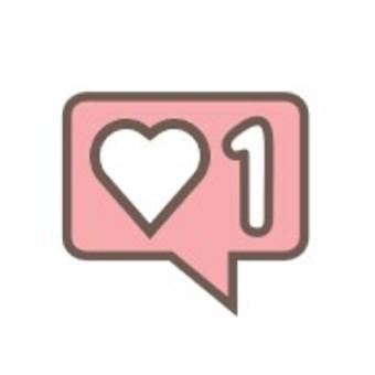 Speech balloon Heart Like Highly rated