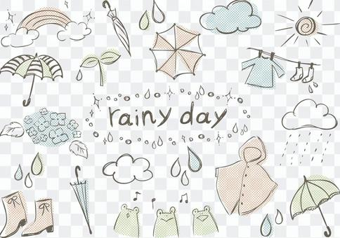 Sketch_rainy季節點