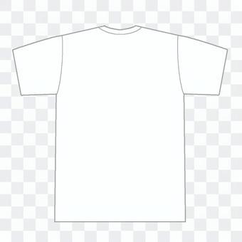 白Tシャツ背面