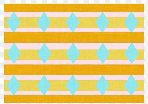菱形和邊框圖案