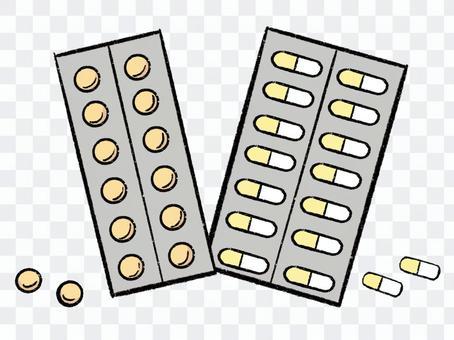 片劑和膠囊藥