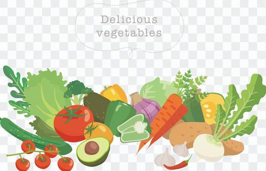 おいしい野菜_集合