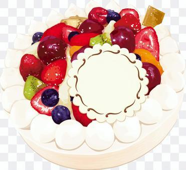 裝飾蛋糕生日蛋糕