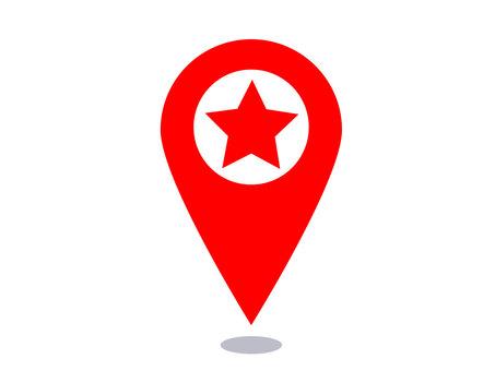 ☆ Map pin illustration