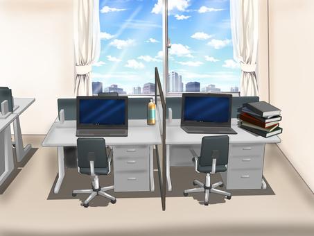 晨間辦公室(帶電腦)