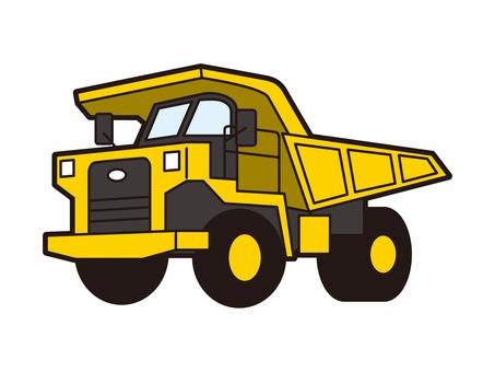 Dump truck Large dump truck