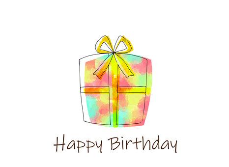 Birthday gift birthday card