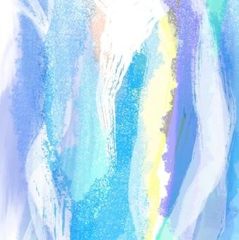藍色art_hand_painted_texture