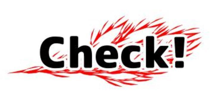 Check! Logo