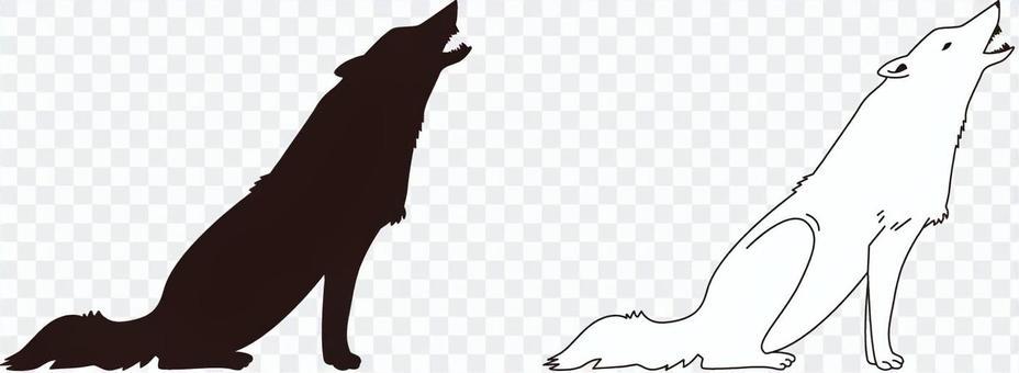 Wolf (monochrome)