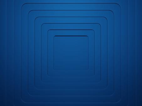 네모 난 구멍이 뚫린 파란 판의 겹침