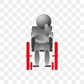 Worried about a wheelchair