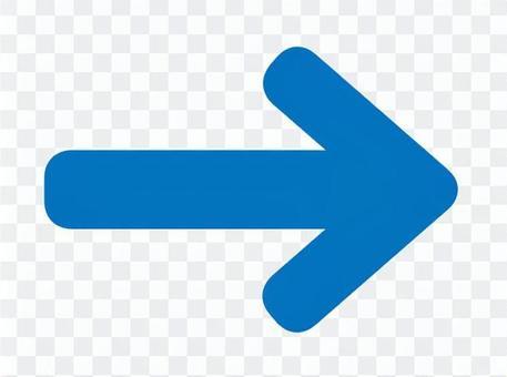 圓形的箭頭藍色透明
