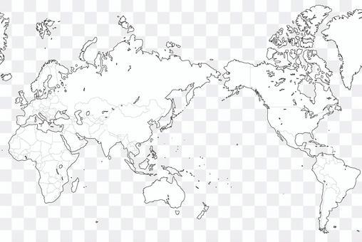 Blank map-world