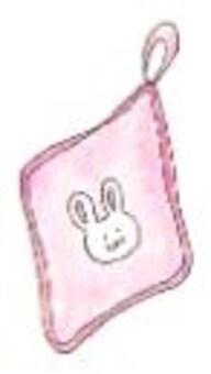 Towel towel (girls)