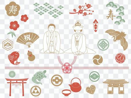 日式婚禮套裝