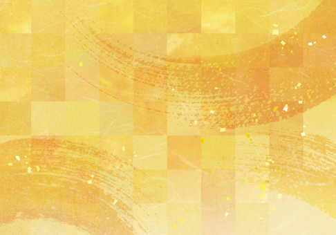 New Year / holiday / banquet image Golden Japanese style background