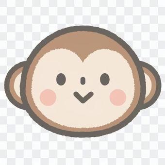 可愛的動物猴子