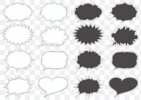 項目插圖-雙線氣球套
