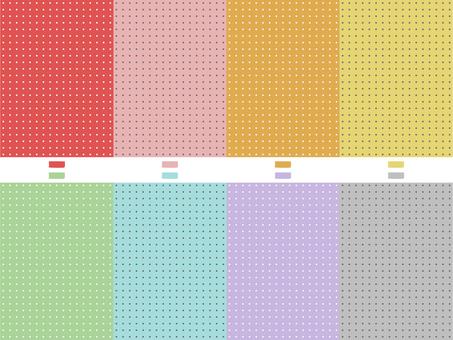 Pindot pattern no.2 (8 colors)