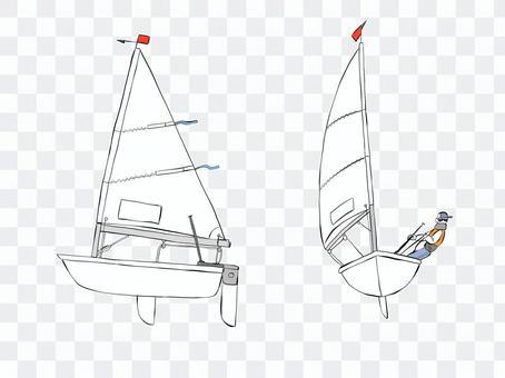 ヨット(縁有)