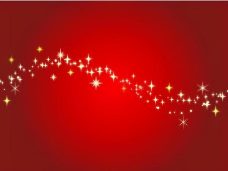 紅色閃光背景素材