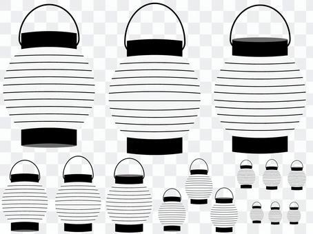燈籠(白色)