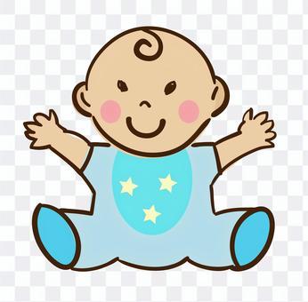 寶貝的插圖
