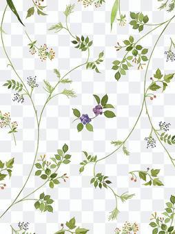 草花 パターン