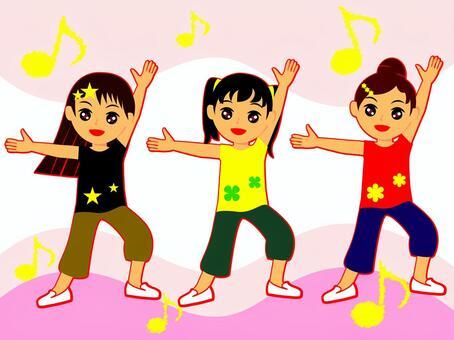 兒童與舞蹈(cs 2↓)