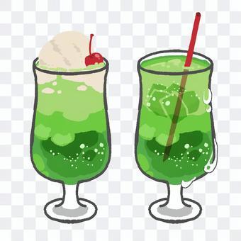 2種瓜汽水