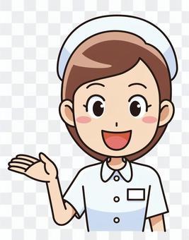 女護士指導