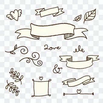 丝带框架材料