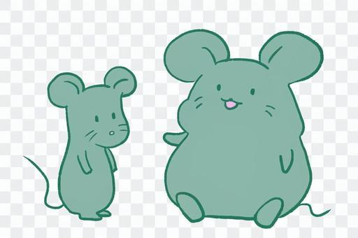胖老鼠和瘦老鼠