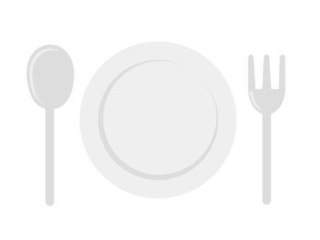 Dish & Spoon & Fork