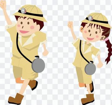 遠征隊遠征隊尋寶兒童