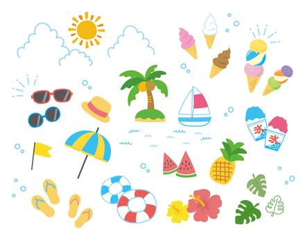 Various summer sets