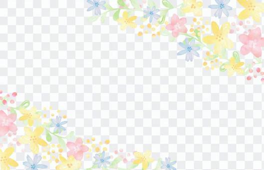 少女材質088柔和花