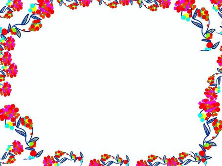Flower creation frame