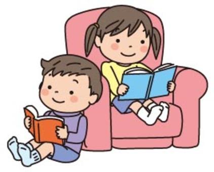 兒童沙發兒童閱讀書籍