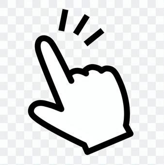 Finger icon _ index finger _