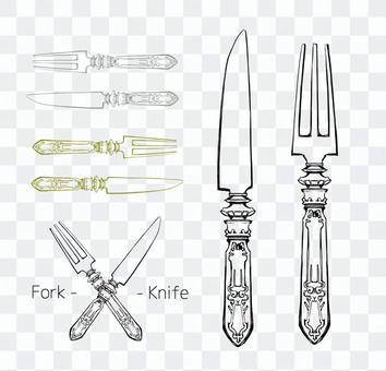 Knife & Fork 01