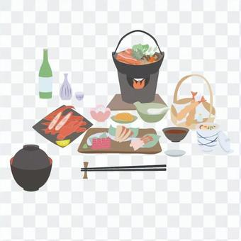 Ryokan's meal