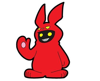 紅兔服裝鬼