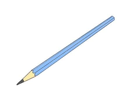 鉛筆3(彩色)